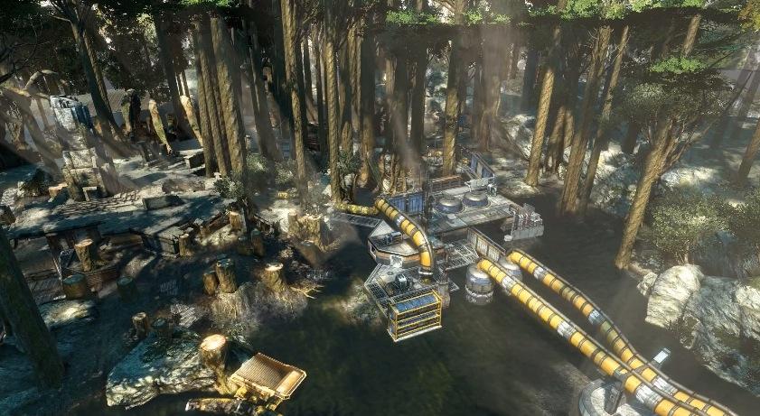 Titanfall, la realizzazione della mappa Swampland del DLC Expedition