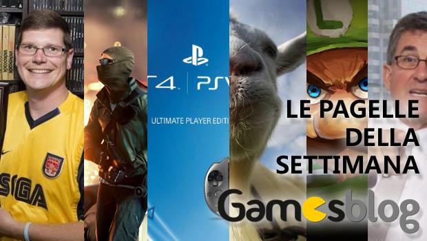 Le Pagelle di Gamesblog: la settimana dal 2 all'8 giugno