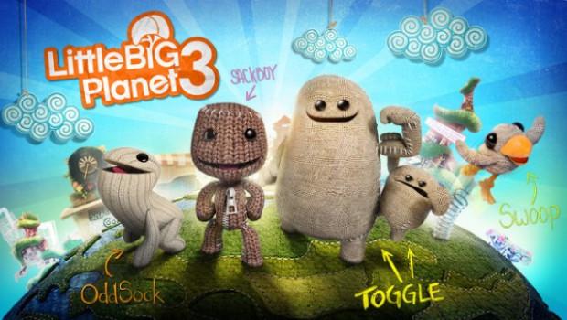 LittleBigPlanet 3: svelata la copertina ufficiale – ancora immagini e video dall'E3 2014