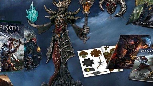 Risen 3: Titan Lords – svelati i boxart ufficiali e i contenuti delle edizioni da collezione