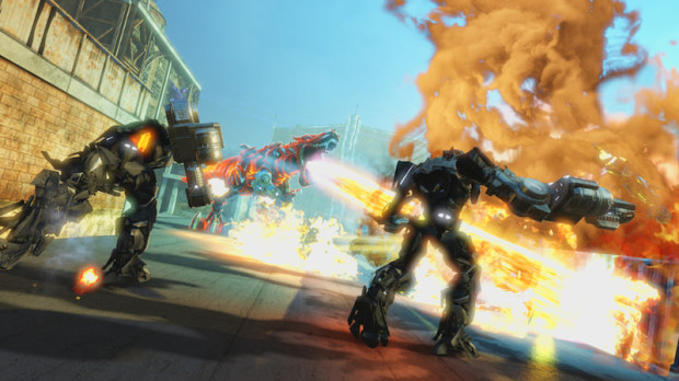 PlayStation 4, il download anticipato dei giochi partirà con Transformers: Rise of the Dark Spark