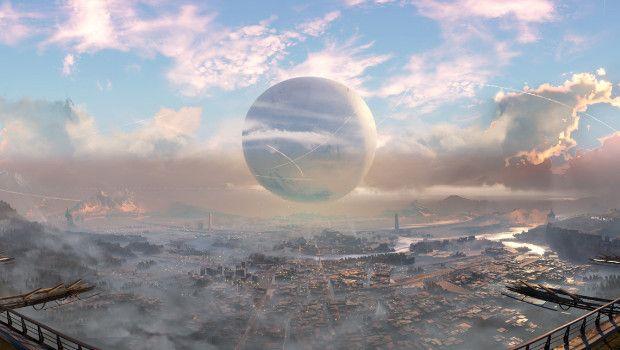 Destiny: nuovi scatti panoramici sulle ambientazioni esplorabili
