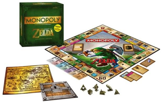 Zelda, Monopoly speciale ispirato alla saga: il gioco arriva il 15 settembre