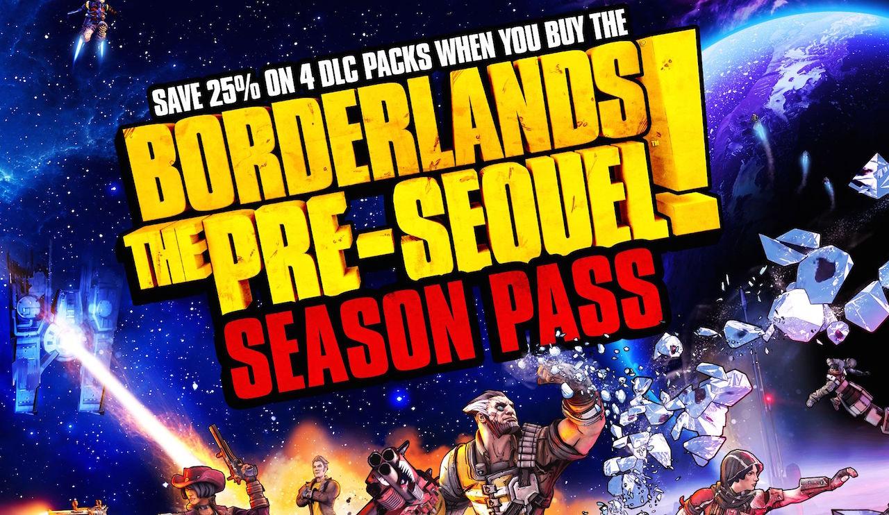 Borderlands: The Pre-Sequel, annunciato il Season Pass