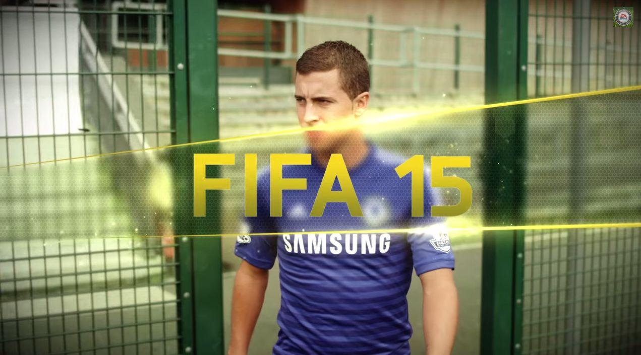 FIFA 15: Eden Hazard nel trailer dedicato alle nuove skill moves