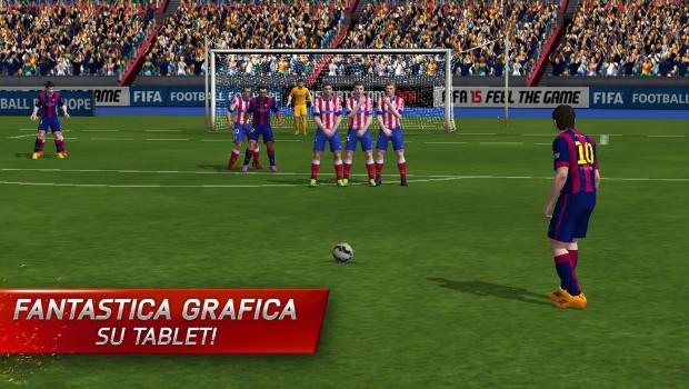FIFA 15 Ultimate Team è disponibile su iOS e Android