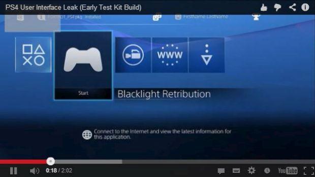 PlayStation 4: il firmware 2.0 introdurrà il supporto ai temi