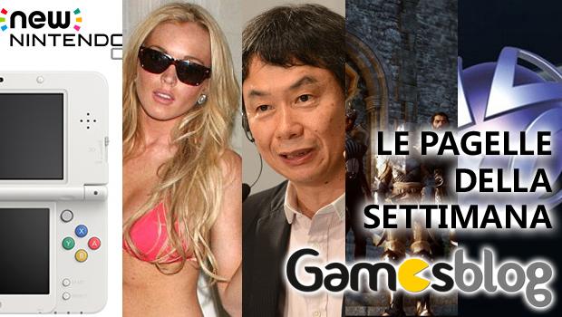 Le Pagelle di Gamesblog: la settimana dal 25 al 31 agosto