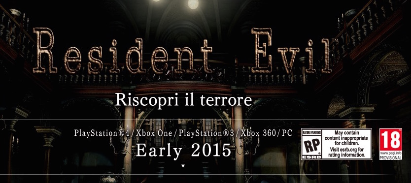 Resident Evil HD Remastered: primo trailer di gameplay