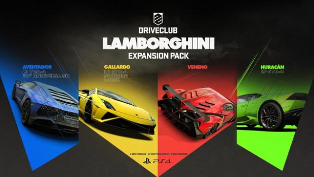 DriveClub: immagini e video sull'update di marzo e sul DLC Lamborghini
