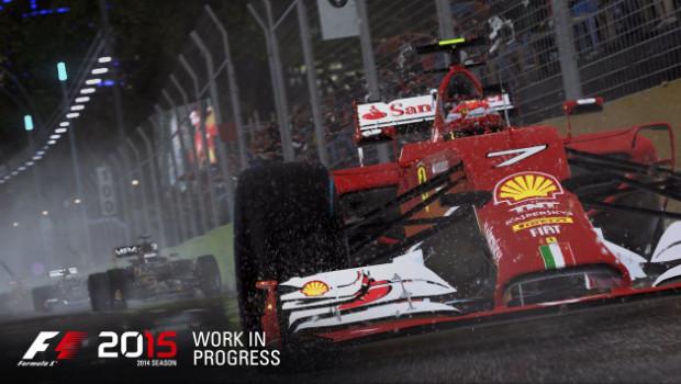 F1 2015 per PC, PS4 e Xbox One: ecco le prime immagini di gioco