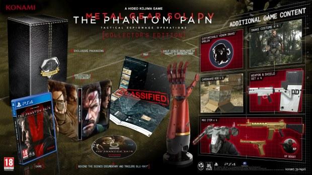 Metal Gear Solid V: The Phantom Pain, annunciata la data d'uscita