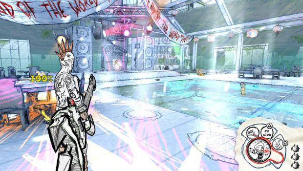 Drawn to Death: il folle sparatutto multiplayer di David Jaffe torna a mostrarsi in foto