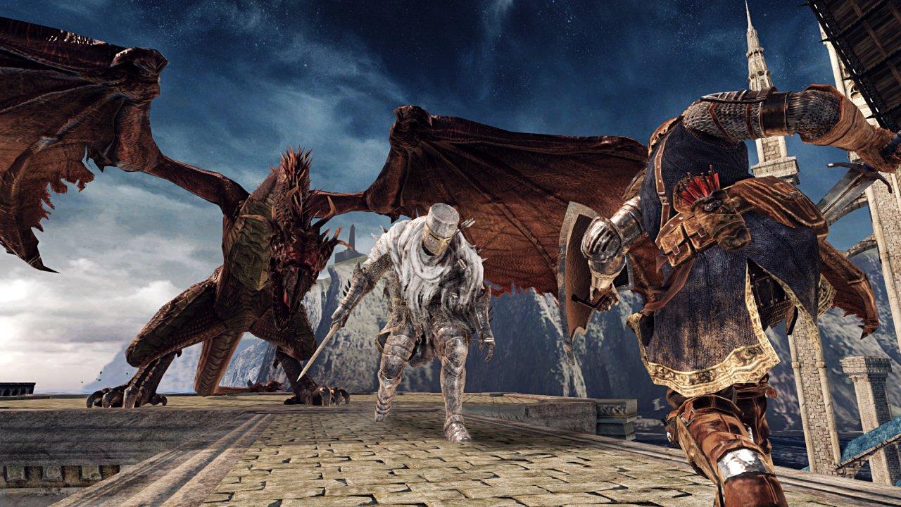 Dark Souls II: Scholar of the First Sin, trailer di lancio e screenshot