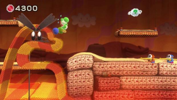 Yoshi's Woolly World: la varietà delle ambientazioni in nuovi screenshot