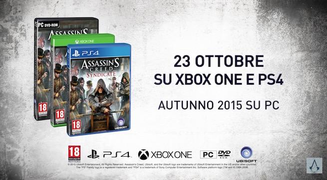 Assassin's Creed: Syndicate svelato ufficialmente, ecco le prime immagini
