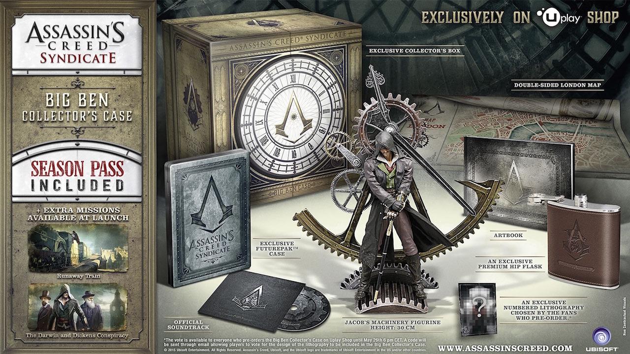 Assassin's Creed: Syndicate, ecco le quattro edizioni speciali