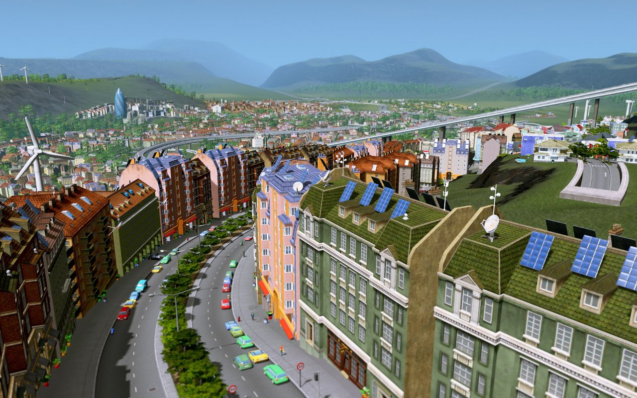 Cities Skylines: il primo update gratuito aggiunge i tunnel e le mappe europee