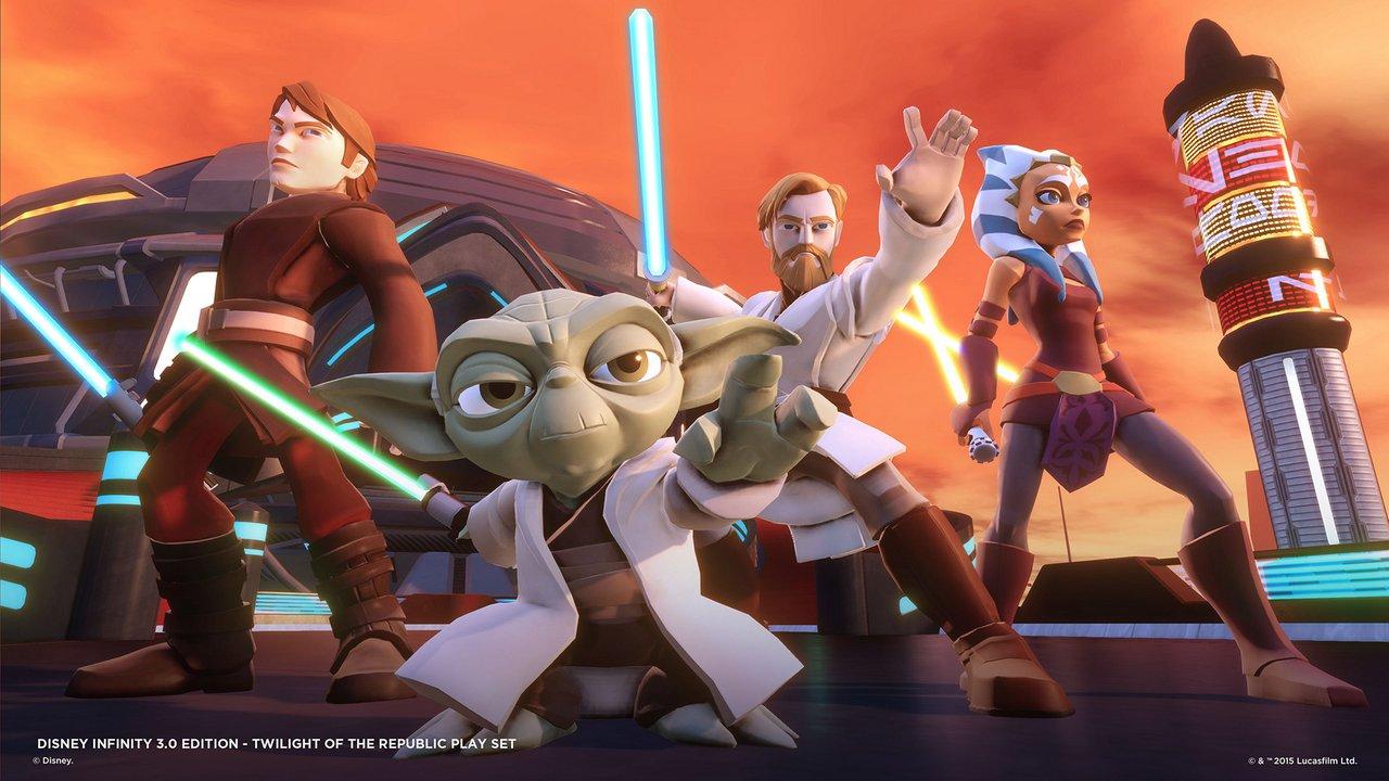 """Disney Infinity 3.0: immagini e video sul Play Set di Star Wars """"Twilight of the Republic"""""""