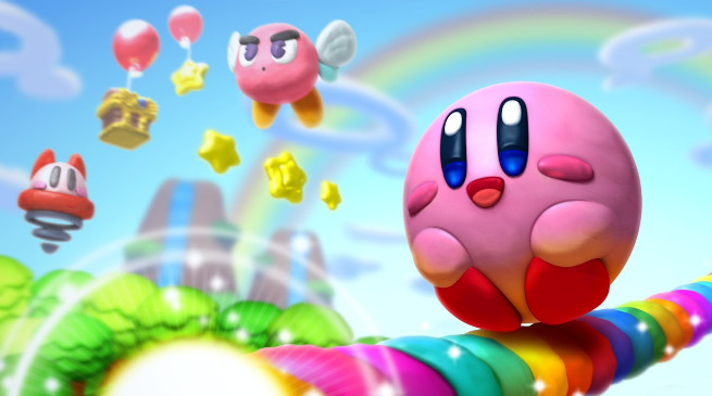 Kirby e il Pennello Arcobaleno si lancia in video