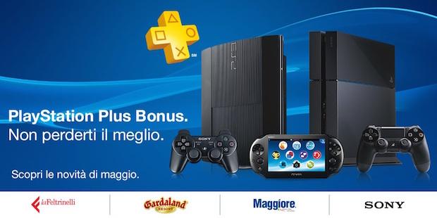 PlayStation Plus Bonus: ecco le novità di maggio 2015