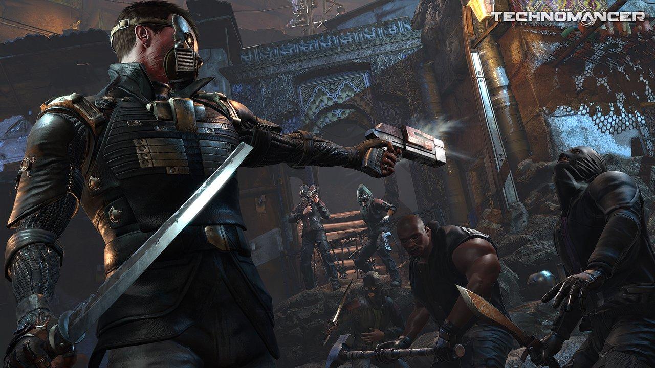 The Technomancer: la città marziana di Noctis in nuovi screenshot