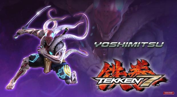 Tekken 7, arriva anche lo storico Yoshimitsu