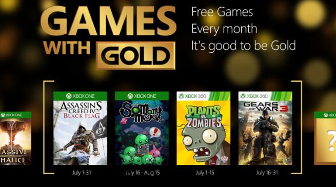 Games With Gold: svelati i titoli gratuiti di Luglio 2015