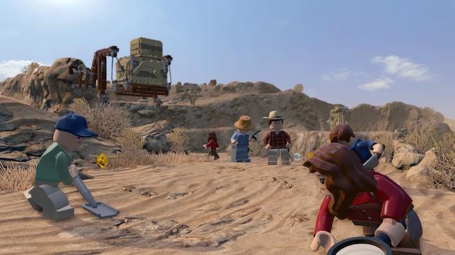 LEGO Jurassic World esce oggi: ecco il trailer di lancio