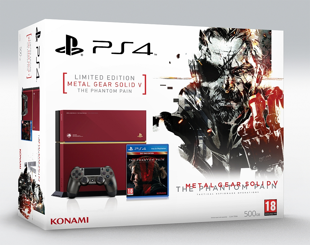Metal Gear Solid V: The Phantom Pain, ecco il bundle PlayStation 4 in versione limitata