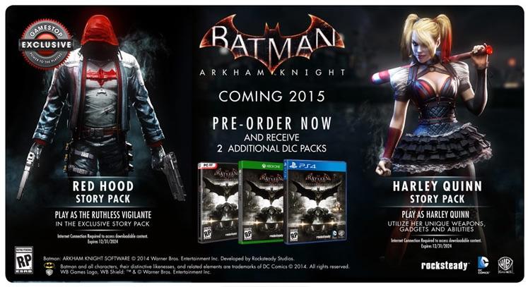 Batman: Arkham Knight, il trailer del Red Hood Story Pack