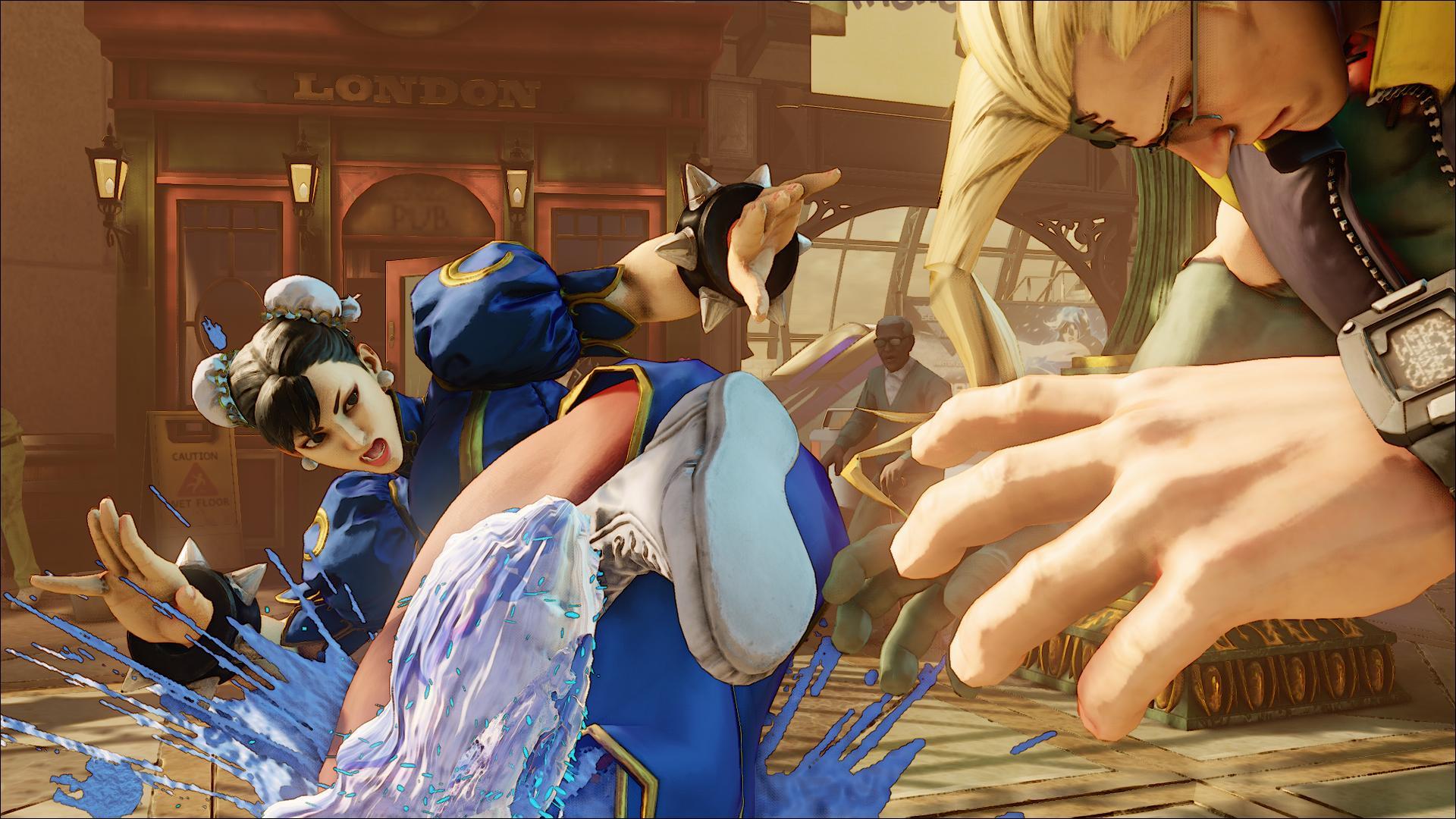 Street Fighter V in una nuova serie di screenshot