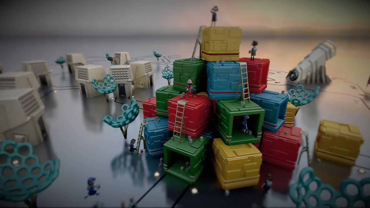 The Tomorrow Children: dinosauri, torrette difensive e grattacieli di plastica nel nuovo trailer dell'E3 2015