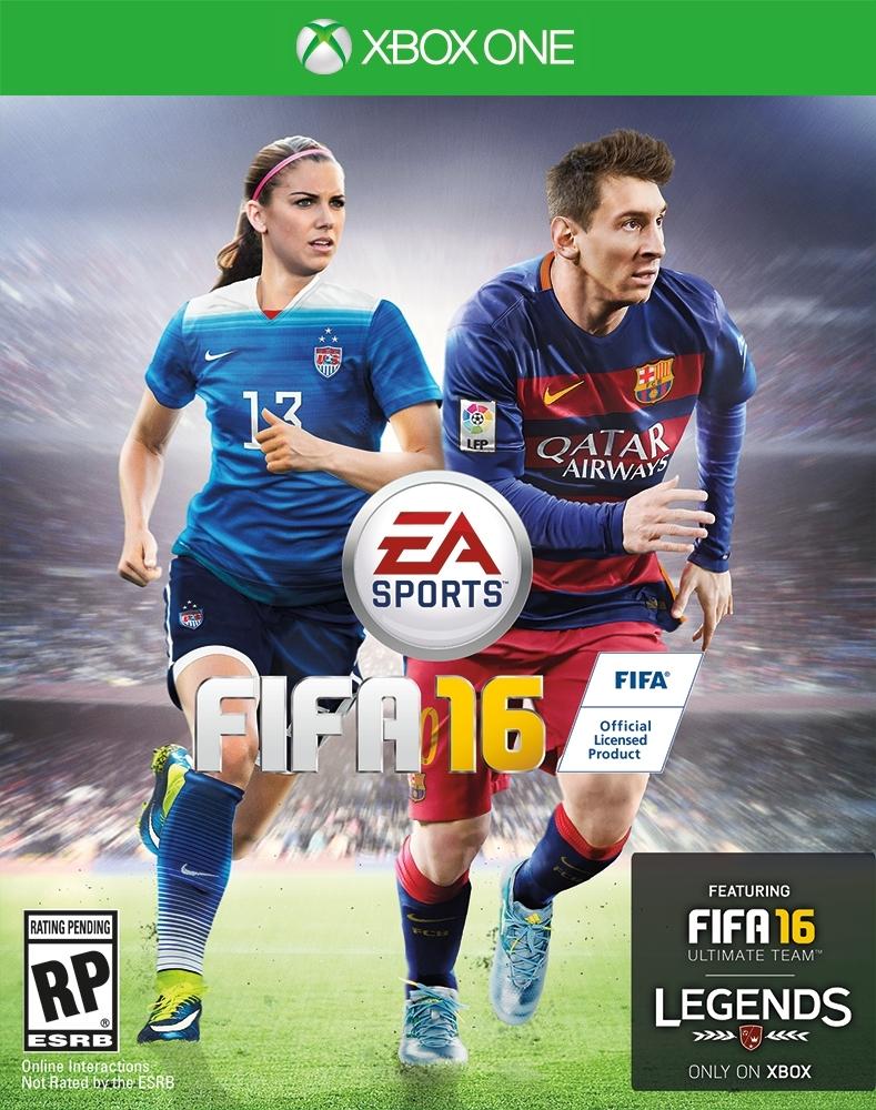 FIFA 16: le calciatrici Alex Morgan e Christine Sinclair sulle copertine per Stati Uniti e Canada