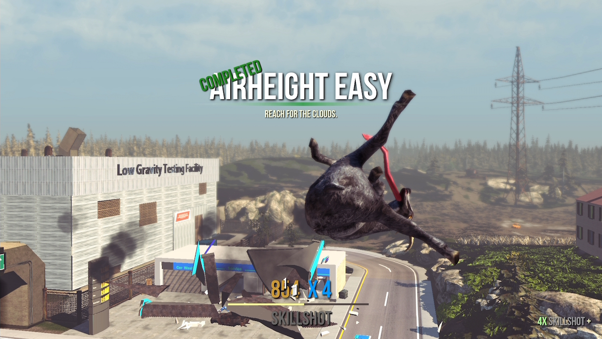 Goat Simulator sbarca su PlayStation 3 e PlayStation 4