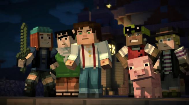 Minecraft: Story Mode – ecco il primo video di gioco