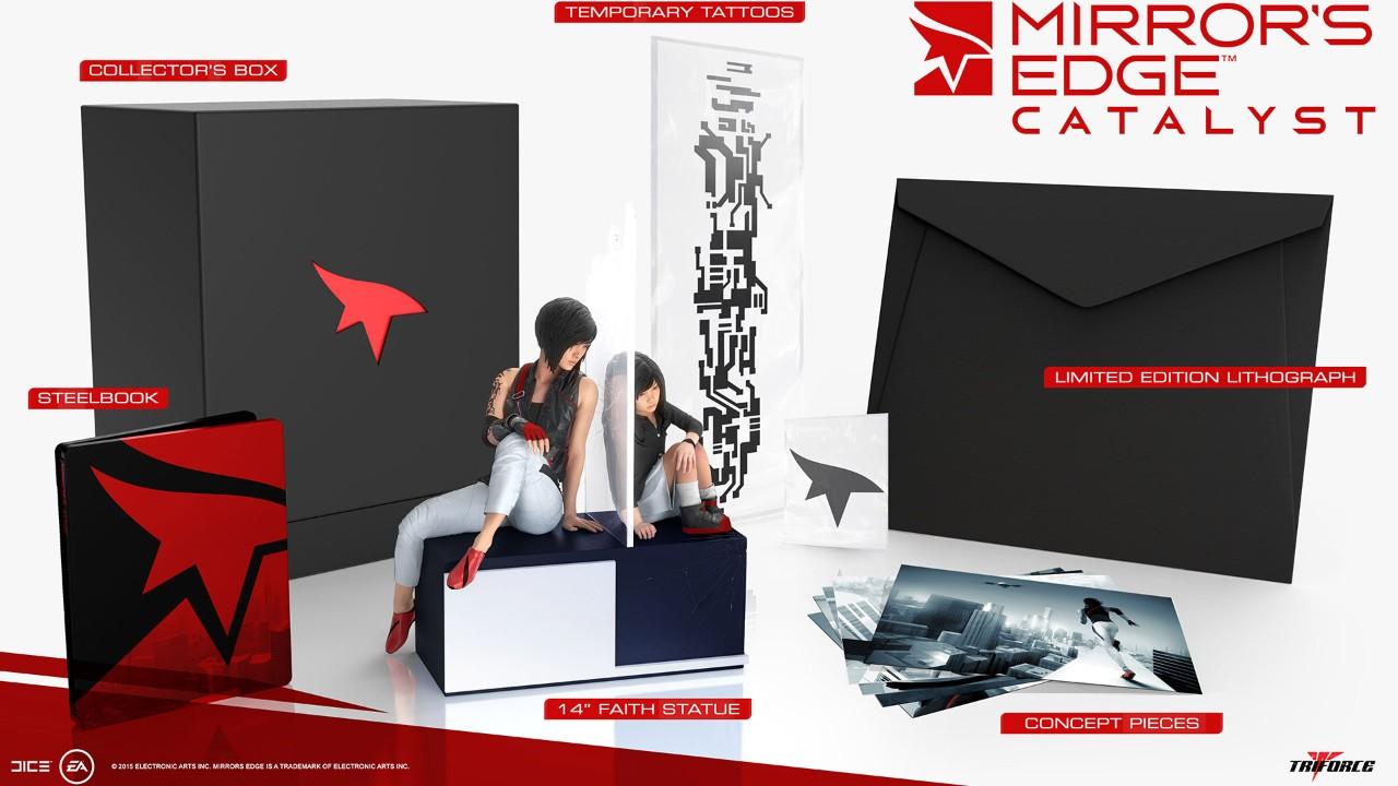 Mirror's Edge Catalyst: svelata la Collector's Edition da 200 dollari