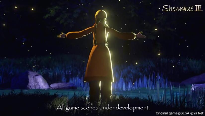 "Shenmue 3: nuovo video ""Lake of the Lantern Bugs"""
