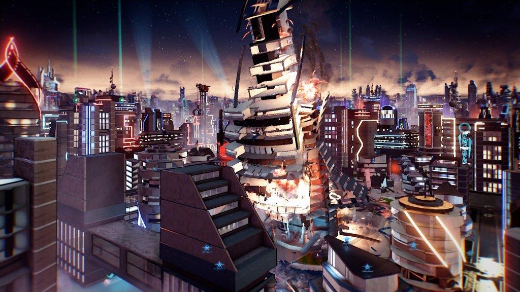 Crackdown 3: sparatorie ed esplosioni nel primo gameplay trailer della Gamescom 2015