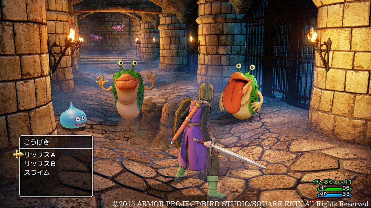 Dragon Quest XI per PS4 e 3DS: nuove immagini da Square Enix