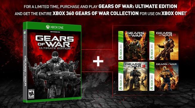 Gears of War: Ultimate Edition comprenderà le versioni retrocompatibili dei quattro episodi della serie