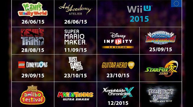 Nintendo: ecco la lineup Wii U e 3DS di fine 2015