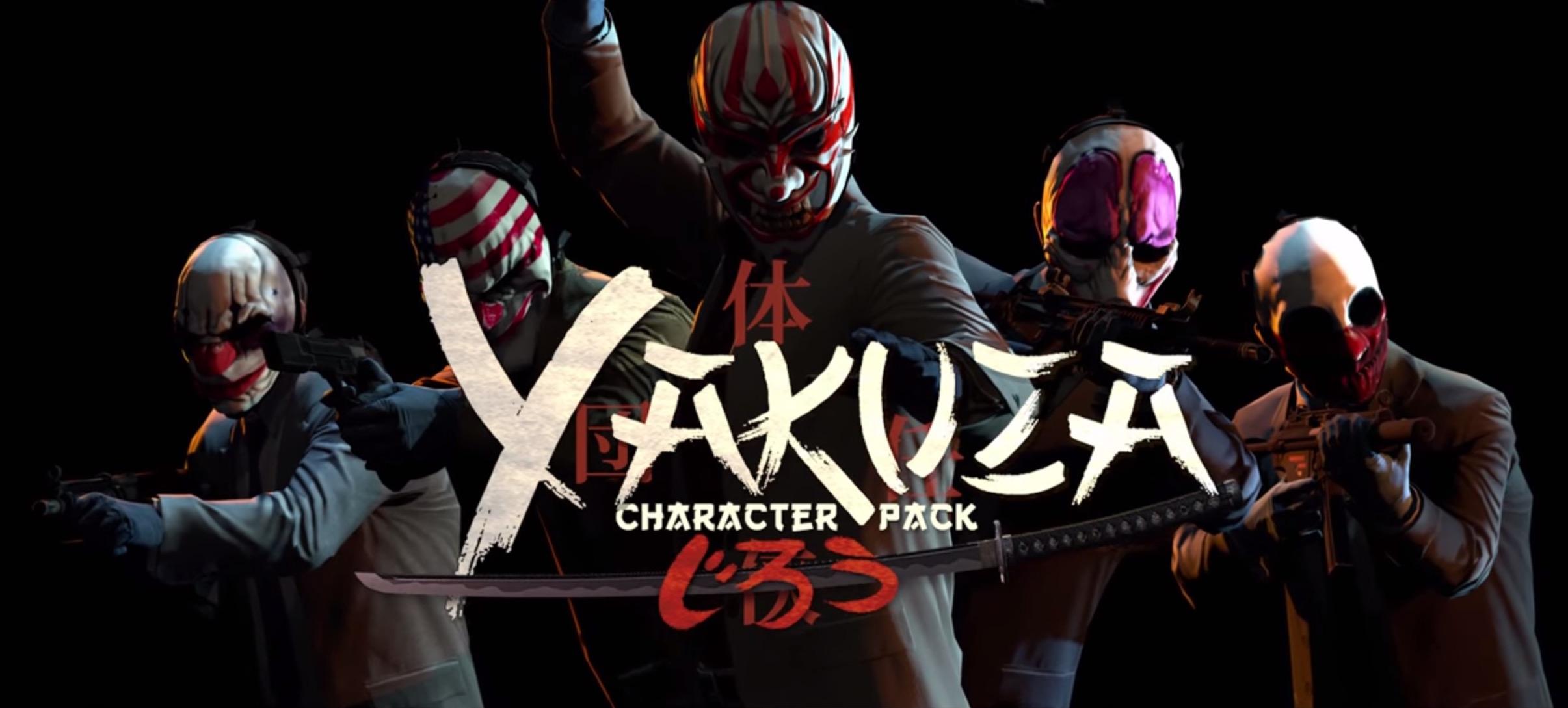 PayDay 2, arriva il character pack Yakuza: ecco il trailer ufficiale