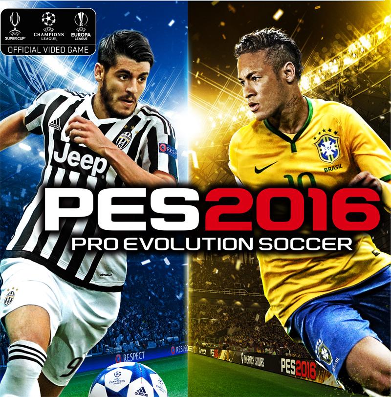 PES 2016: demo in uscita a breve, foto della copertina con Neymar e Morata