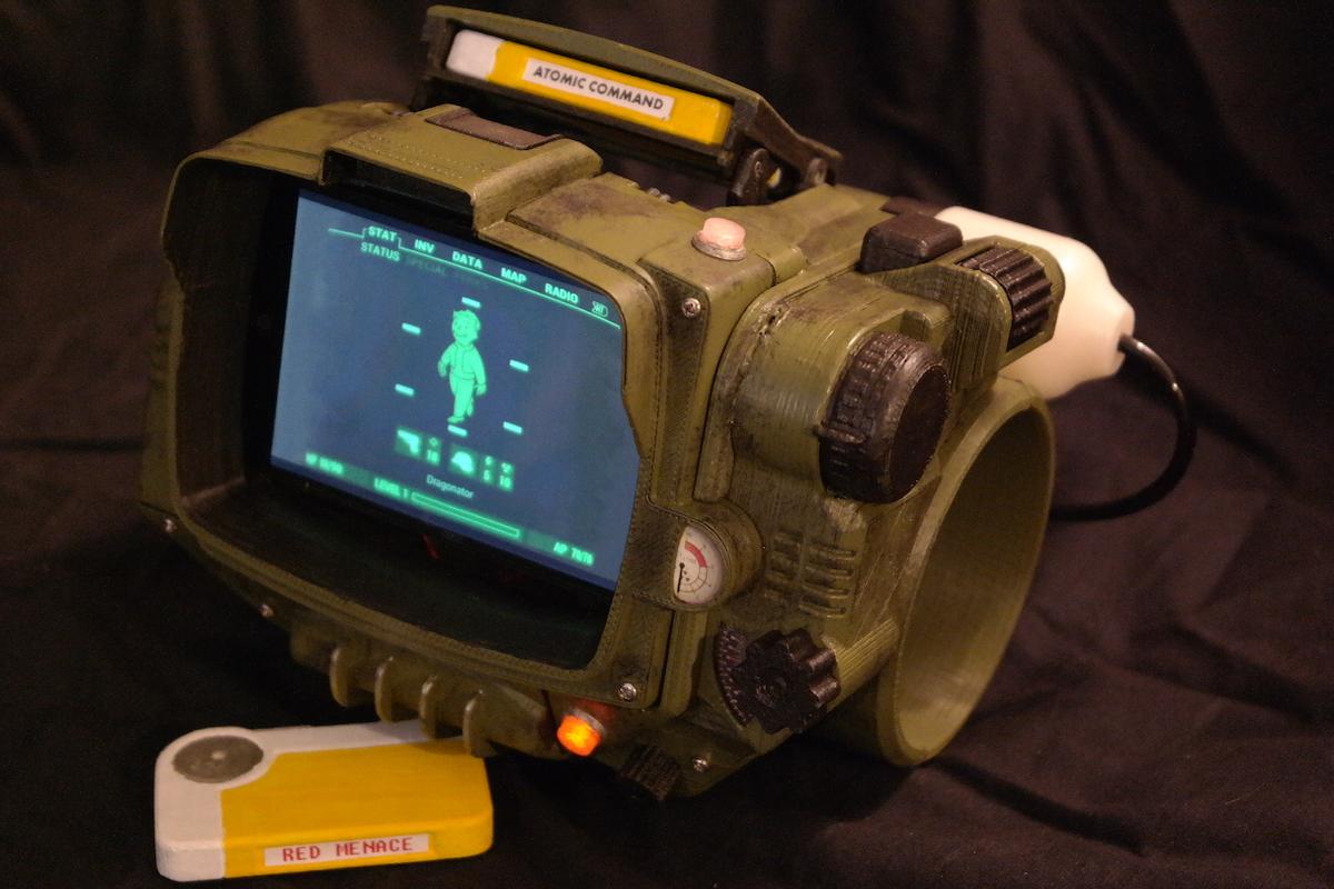 Fallout 4, scorte di Pip-Boy terminate? Basta una stampante 3D