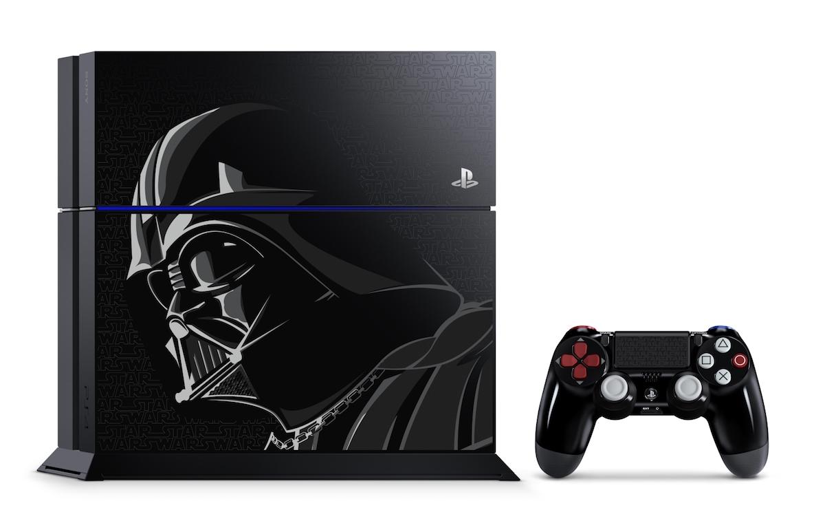 PlayStation 4, ecco la versione limitata ispirata a Darth Vader