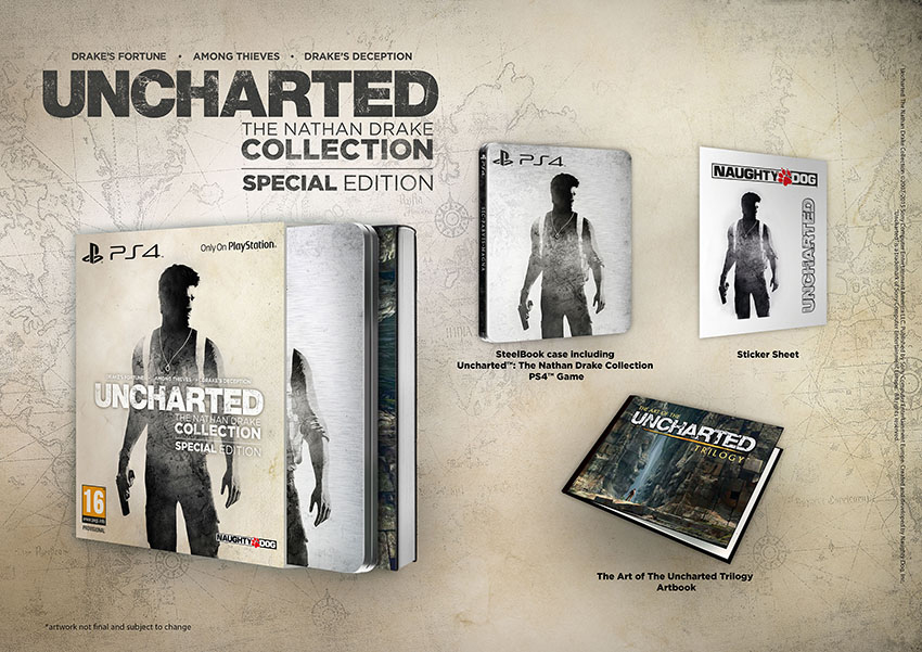 Uncharted: The Nathan Drake Collection arriverà anche in una Special Edition