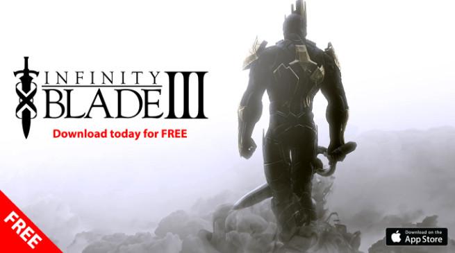 Infinity Blade III gratis su iOS: ecco come ottenerlo