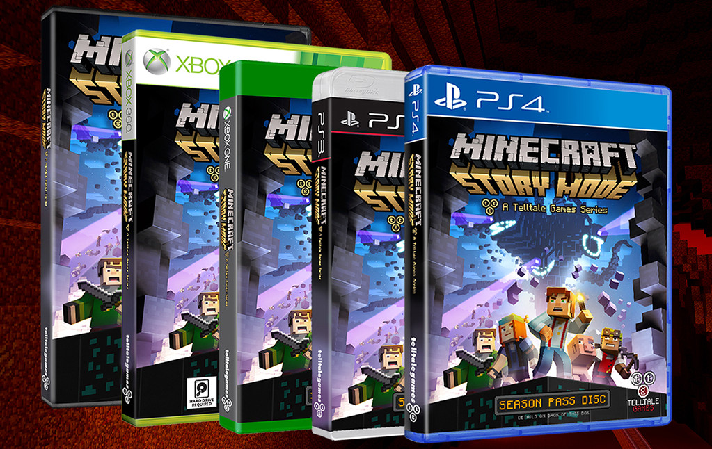 Minecraft: Story Mode esce il 13 ottobre – svelata l'edizione fisica con il Season Pass