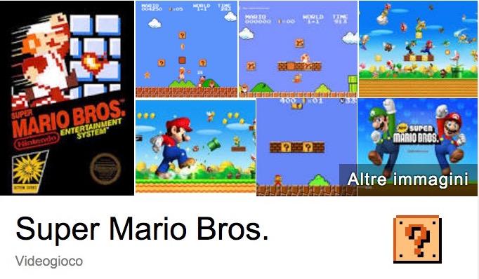 Super Mario Bros. compie 30 anni: Google fa gli auguri con un easter egg